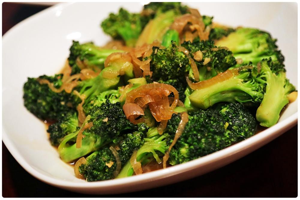 broccolli hong kong style