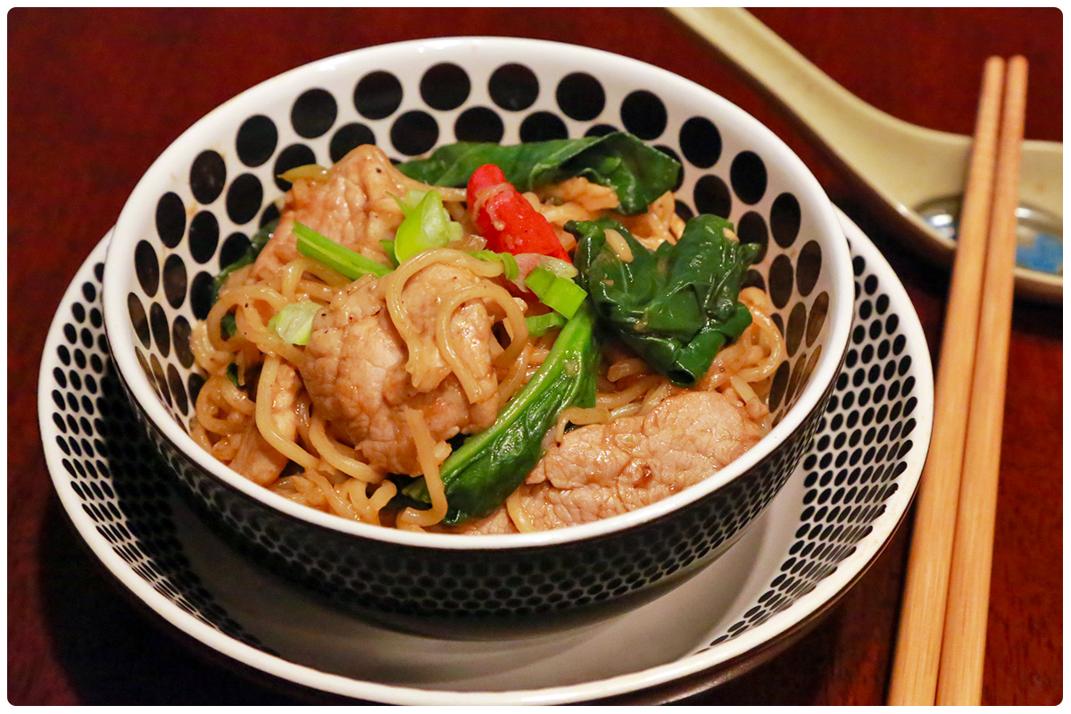 how to cook fresh yakisoba noodles